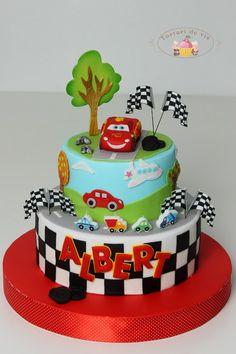 Torturi - Viorica's cakes: Fulger McQueen pentru Albert