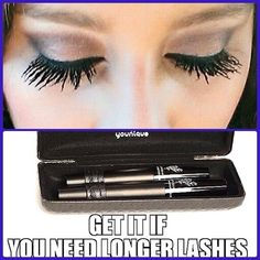 NO MORE FALSIES, USE 3D LASH MASCARA!   http://www.youniqueproducts.com/BrennaHolt