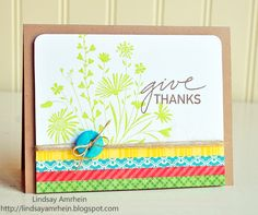 Love this card by Lindsay!