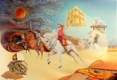 Gyuri o mejor conocido como Gyurka, es un pintor autodidacta rumano originario de la localidad de Brasov. pinturas surrealistas de Gyurka son elegante...