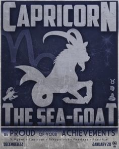 Capricorn: The Sea Goat