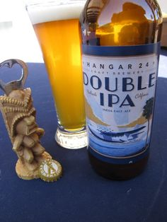 Hangar 24 - Double IPA, well-balanced, bold and hoppy with a honey citrus sweetness.