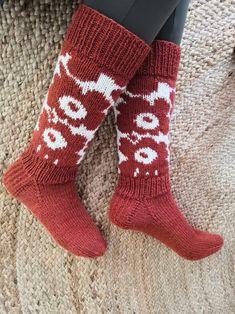 Marimekko, Knitting Socks, Crocheting, Knit Crochet, Knitting Patterns, Diy Ideas, Crafts, Fashion, Handarbeit