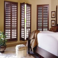 Elegance and Value DIY - How to make Plantation Shutters Yourself! Build These Beautiful Shutters Yourself. An Affordable Solution for Expensive Window Shutters.
