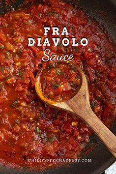 Spicy Chicken Recipes, Seafood Recipes, Pasta Recipes, Vegetarian Recipes, Dinner Recipes, Cooking Recipes, Seafood Pasta, Fra Diavolo Sauce Recipe, Seafood Fra Diavolo Recipe