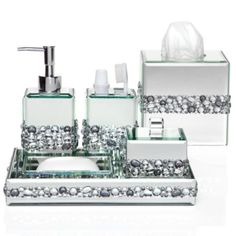 silver sparkle bathroom accessories. Z Gallerie Has Designed Our Exclusive Ricci Vanity Accessories To Step Up  The Glamour Quotient BLING SILVER GLITTER WITH CLEAR AB RHINESTONE LIGHT SWITCH COVER