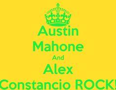 Austin Mahone And Alex Constancio Rock