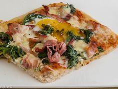 Recette Plat : Pizza florentine par Kilometre-0