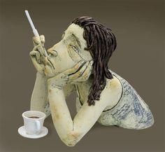 Sigita Lukosiunas- 'Tea Break' http://www.artlukos.lt/sculptures.html