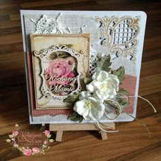 182. Mother's Day cardMarianne Creatables Die Cutting Stencil - Anja Corner - LR0200 Cheery Lynn Designs - Flourish #14 CAFLRS14