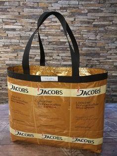 Jacobs Kaffeetasche von kavaWerkstatt auf Etsy Tote Bag, Gold, Bags, Etsy, Carry Bag, Coffee, Dime Bags, Handbags, Tote Bags