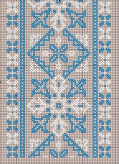 Crochet Flower Patterns, Embroidery Patterns Free, Cross Stitch Embroidery, Hand Embroidery, Cross Stitch Patterns, Embroidery Designs, Knitting Patterns, Palestinian Embroidery, Cross Stitch Alphabet
