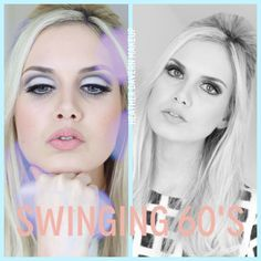 Swinging 60's Mod Makeup