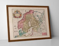 Brecknockshire Old Map, originally created by Willem Janszoon Blaeu, now available as a 'museum quality' vintique wall decoration print. English Gifts, Greece Map, Old Maps, Antique Maps, Historical Maps, Fine Art Paper, Giclee Print, Vintage World Maps, Museum