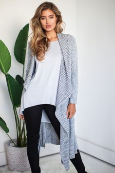 $59.00Our favourite Jolene maxi cardigan is a must have for this season! This is your every day wardrobe essential! Also available in black and camel.