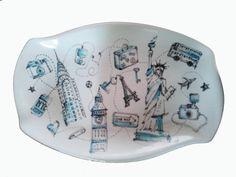 Dibujo y pintura en porcelana