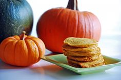 So, the final in my pumpkin posts is going to be: High Protein Pumpkin Pancakes 1/2 cup cottage cheese 1/2 cup pumpkin puree 3/4 cup dry oats 2 eggs 1 TBL
