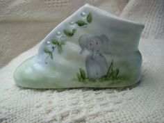 Jungle Baby Personalized baby bootie hand by RosebudStudiosChina