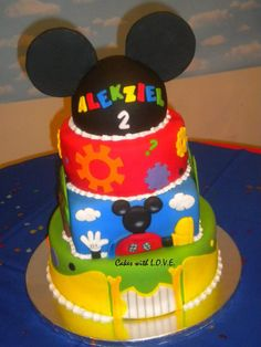 mickey mouse birthday cakes   Mickey Mouse Clubhouse