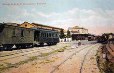 Sorocaba (SP) - Estação da Estrada de Ferro Sorocabana - A estação foi inaugurada em 1875 tornando viável a conexão entre São Paulo e Sorocaba. Mais tarde a linha tronco foi prolongada até as margens do rio Paraná, integrando a região Sul do Estado de São Paulo.