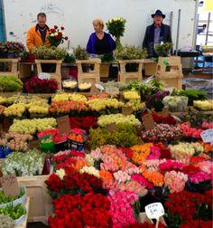 Amsterdam flower market stall  Amsterdam, Netherlands  http://www.travelandtransitions.com/destinations/destination-advice/europe/