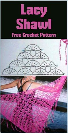100 Free Crochet Shawl Patterns - Free Crochet Patterns - Page 13 of 19 - DIY & Crafts
