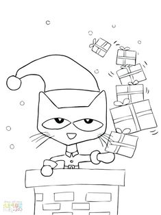 Pete The Cat Coloring Sheets Pictures