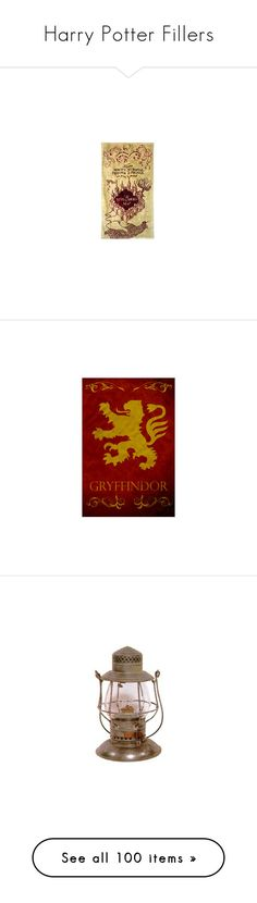 """""""Harry Potter Fillers"""" by katleadavis ❤ liked on Polyvore featuring harry potter, hogwarts, fillers, hp, harry potter stuff, gryffindor, extra, text, backgrounds and filler"""