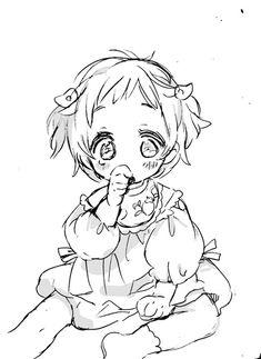 Little Nene Yashiro Artist: むーとん Kawaii Chibi, Kawaii Anime, Cute Drawings, Drawing Sketches, Bebe Anime, Character Art, Character Design, Avatar Cartoon, Anime Child