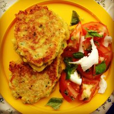 sweetcorn fritters. Made this for my son and I ... all I can say is YUMMY!