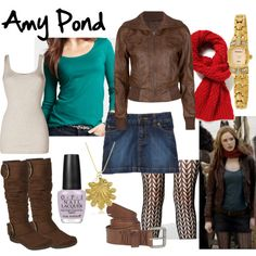 """Amy Pond Vampires of Venice"" by fandom-wardrobes on Polyvore"