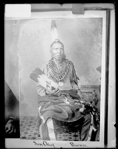 Native American Encyclopedia  Sun Chief - Pawnee - no date