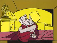 Valerio Adami - Le baisir