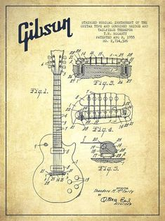 277 best blueprints patents images on pinterest in 2018 patent mccarty gibson les paul guitar patent drawing from 1955 vintage drawing patentdrawing malvernweather