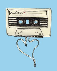 'The Mix Tape' print