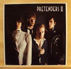 PRETENDERS - II  (2) -  Vinyl LP - Chrissie Hynde - Message of Love - Top RARE