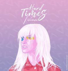 Paramore - Hard Times whoever did this it's brilliant! Paramore Band, Hayley Paramore, Paramore Hayley Williams, Hard Times Paramore, Paramore Wallpaper, Paramore After Laughter, Indie, Music Is My Escape, Music Pics