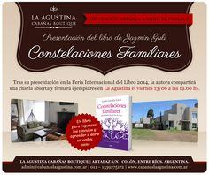 Cliente: La Agustina Cabañas Trabajo: diseño de flyer