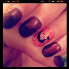 #belladonna #nailart #kim #fall #halloween #glitter