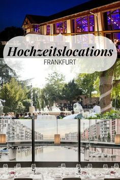 Heiraten in Frankfurts schönsten Locations! Für den perfekten Hochzeitstag findet Event Inc Ihre Wunschlocation. Lassen Sie sich kostenlos beraten! #hochzeit #frankfurt #hochzeitslocation #location #hochzeitsfeier #garten #restaurant #party #romantik #eventlocation #eventinc