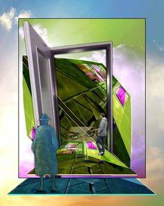 'Außen vor' von Gertrude  Scheffler bei artflakes.com als Poster oder Kunstdruck $18.71
