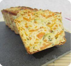 Terrine de courgettes et carottes au tofu soyeux