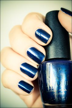 OPI * Yoga-ta get this blue
