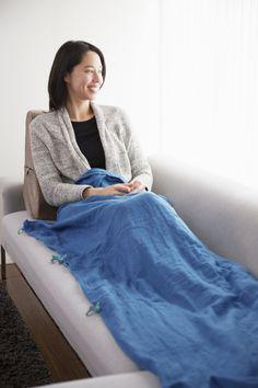 Japanese paper gauze thermal blanket / ao Co.,Ltd