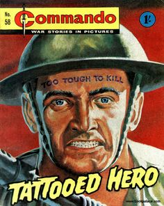 Commando comics. Always loved these. Great art and stories. aug16