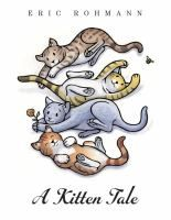 """We read """"A Kitten Tale"""" by Eric Rohmann at our winter themed storytime on Monday, January 9, 2017."""