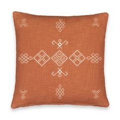 Funda de cojín, Angusto LA REDOUTE INTERIEURS - Cojines y fundas de cojines Red Couch Living Room, Throw Pillows, Bed, Galeries Lafayette, Products, Cushion Covers, Slipcovers, Contemporary, Toss Pillows