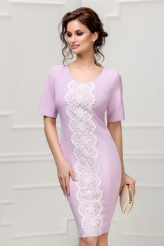Short Sleeve Dresses, Dresses With Sleeves, Chic, Fashion, Vestidos, Workwear, Dress, Outfits, Embroidery