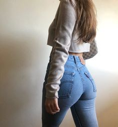 Nothing better than an ass in Jeans Women, Girls Jeans, Pants For Women, Cowgirl Outfits, Stylish Outfits, Tops For Leggings, Leggings Are Not Pants, Pinup Photoshoot, Sexy Jeans