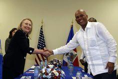 Hillary Rodham Clinton, Michel Martelly